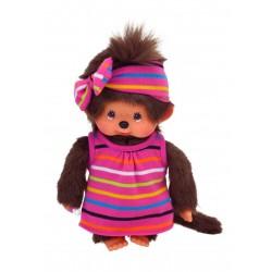 Monchhichi bamse - Pige med sommerkjole