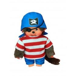 Monchhichi bamse - Dreng i pirat-kostume